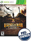 HISTORY Legends of War: Patton - PRE-OWNED - Xbox