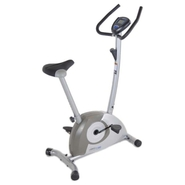 - 1300 Magnetic Upright Exercise Bike - Black, Gra