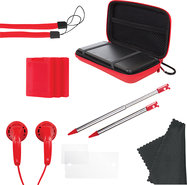 - 11-in-1 Starter Pack for Nintendo 3DS - Red - Re