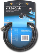 - 6' Indoor/Outdoor TRG6 Cable