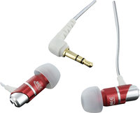 - Original M Series M21 Earbud Headphones - Red