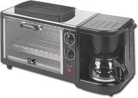 - 3-in-1 Coffeemaker/Toaster Oven/Fryer - Stainles