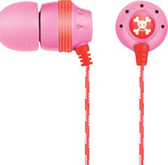 - Ink'd Earbud Headphones - Pink