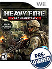 Heavy Fire: Afghanistan - PRE-OWNED - Nintendo Wii