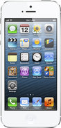 - iPhone 5 with 64GB Memory Mobile Phone - White &