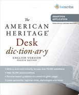 - American Heritage Dictionary