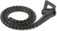 - 8&#39; Cable-It Cable Management Kit - Black