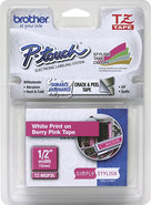 Brother - 1/2   Laminated Tape for Select P-Touch