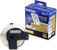 Brother - 1-1/7   x 3-1/2   Address Paper Labels (