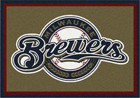 - Milwaukee Brewers Small Rug