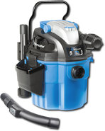 - 5-Gallon Wall-Mountable Wet/Dry Vacuum - Blue/Bl