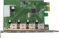 - 4-Port USB 30 PCI Express Expansion Card