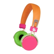 - Hi-Light Headphone - Green, Orange, Pink