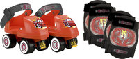 - Disney Cars Junior Roller Skates and Pads Pack (