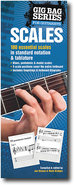 - Gig Bag Book of Scales for Guitar Players