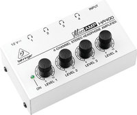 - MicroAMP 4-Channel Stereo Headphone Amplifier