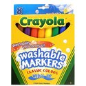 Washable Markers -- Classic Colors wedge tip