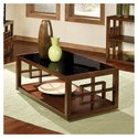 Hamilton Rectangular Coffee Table with Casters