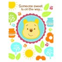 Disney Pooh Little Hunny Bunny Baby Shower Invitat