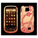 Samsung SPH-M910 Pink flower Peace design 2pc case