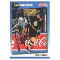 Stephane Quintal, Boston Bruins, 1991 Score Autogr