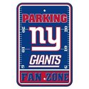 New York Giants NFL Plastic Parking Sign
