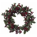 24 Inch Holly Berry Wreath