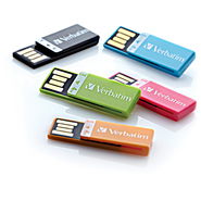 4GB Clip-It USB Flash 3pk