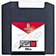 Iomega ZIP 100 MB Disks PC/MAC Dual Formatted New
