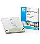 HP 5.25  2.3 GB R/ W Magneto Optical Disk, Part #