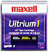 LTO 1 MAXELL TAPE 100GB