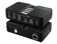 USB SoundBox 7.1 and 5.1 USB Sound Card