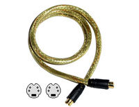 GoldX S-Video Gold Cable (M-M) 50 ft.