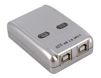 Premium 2-Port (2x1) Automatic USB2.0 Switch