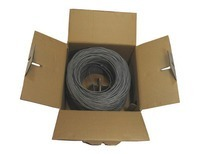 SolidRun Cat6 Cable UTP CM 1000ft Dark Gray