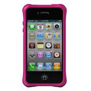 Life Style Smooth Case for iPhone 4/4S - Hot Pink 