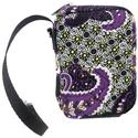 Paisley Case for All Camera Models, Purple