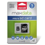 4GB MicroSDHC Class 10 Flash Memory Card, 17 Mbps 