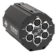 D6 Branch 6-Way DMX Splitter/Amplifier, 3-Pin XLR'