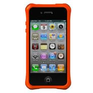 Life Style Smooth Case for iPhone 4/4S - Orange - 