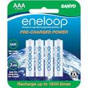 Eneloop AAA Rechargeable Ni-MH Battery, 1500 Cycle