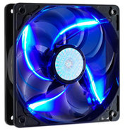 120mm Blue LED Case Fan