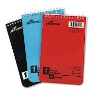 NOTEBOOK,PCKT,TOP,3PK,AST