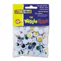 EYES,WIGGLE,100/PK,AST