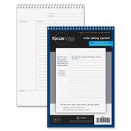 FocusNotes Steno Book, 6  x 9 , White, 80 Sheets
