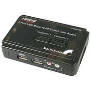 SV211KUSB,  2 Port Mini USB KVM Switch