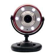 WCF2750HDRED Webcam - Red, Black