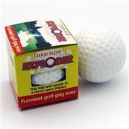 The Exploder - Exploding Golf Balls