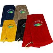 Utopia Golf Logo Golf Towel