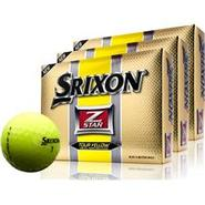 Z-Star Tour Yellow Golf Balls - 3 Pack